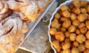 Chiacchiere and Struffoli