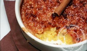 Crème de polenta brulée aux épices