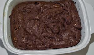 Brownies aux fruits secs et zestes d'orange