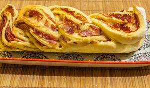 Brioche jambon fromage