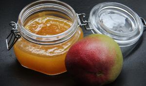 Confiture mangue orange