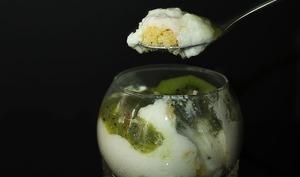 Un zeste de... verrine improvisée au kiwi