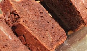 Cake chocolat, à la poire et vin rouge