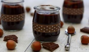 Danette chocolat - noisette maison