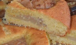 Gâteau aux poires fraiches