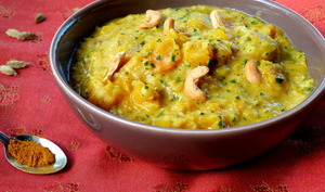 Curry indien de courge