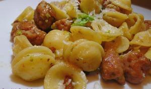 Orrecchiette Brocolis Saucisse
