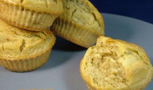 Muffins à la tapenade d'olives vertes