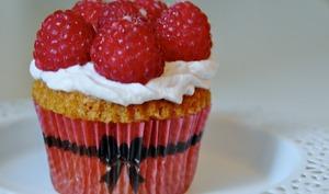 Cupcakes Framboises Noisettes