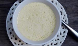 Petites crèmes à la mangue