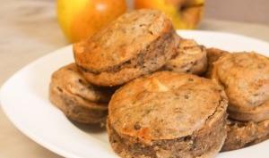 Muffins pomme cannelle lentilles vertes
