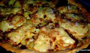 Pizza montagnarde façon raclette