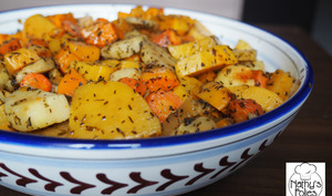 Légumes oubliés rôtis