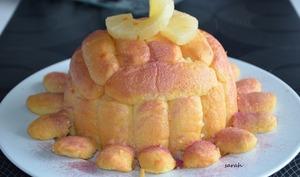 Charlotte facile à l'ananas