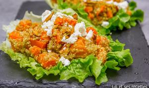 Salade de quinoa à la courge