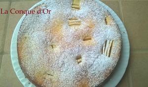 Gâteau aux pommes et au citron