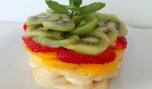 Salade de fruits arc-en-ciel