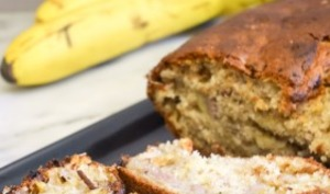 Banana bread gourmand