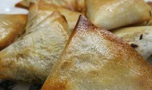Samoussas aux légumes d'hiver et graines de cardamome