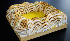 La tarte au citron sans lactose de Sarah Sabbah