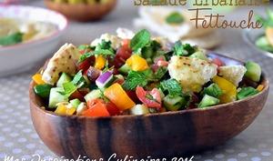 Fattouche, Salade libanaise au pain pita