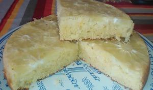 Gâteau renversé au pamplemousse