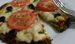 Pâte à pizza au brocoli