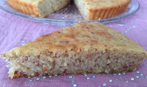 Gâteau moelleux à l'amande