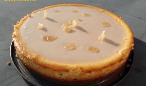 Cheesecake au Gingembre