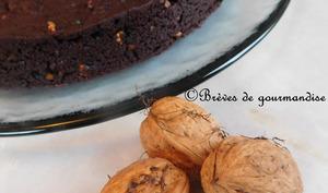 Brownie à la betterave et aux noix