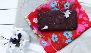 Chocolat cru maison aux noisettes