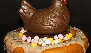 nid de Pâques garni