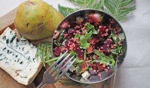 Salade d'hiver gourmande et vitaminée