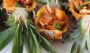 Poulet aigre doux à l'ananas Victoria