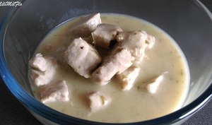 Sauté de porc sauce citron estragon au multicuiseur Philips