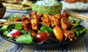 Poulet tikka Massala Kebab