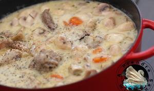 Blanquette de veau aux boulettes