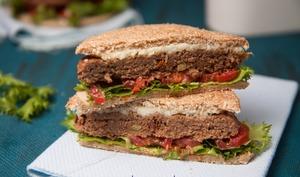Sandwich à la viande hachée