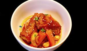 Ragout De Travers De Porc A La Coréenne
