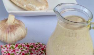 Crème d'ail et de sarrasin pour poissons