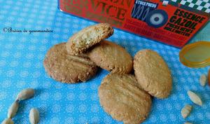 Biscuits à l'amande et cardamome