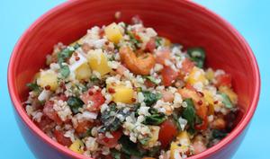 Salade de fonio à la mangue
