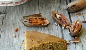 Gâteau au café et aux noix de pécan