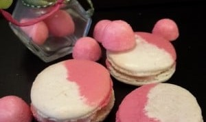 Macarons ganache Tagada Pink