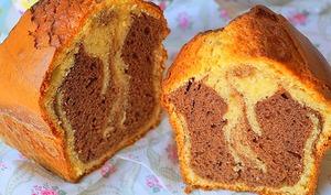 Cake marbré au yaourt extra moelleux