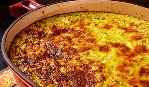 Gratin de quinoa aux courgettes