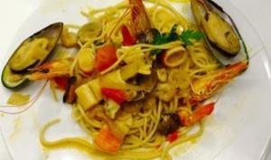 Spaghetti à marin