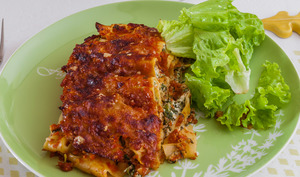 Lasagnes tomate ricotta fines herbes