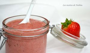 Mousse fraise et banane