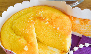 Cake au citron en version muffin géant